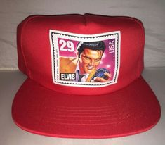 2991f43768bff Vtg Elvis Presley Country Music King Of Rock Snapback hat cap rare 90s Nwot  #fashion
