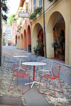 Linea Too slim Corradi - per il vostro locale all'aperto #arredo #giardino