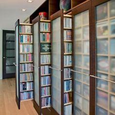 Pull-out Bookshelves