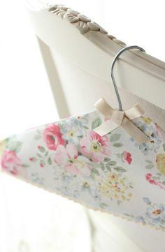 Cath Kidston DIY Fabric Covered Hanger