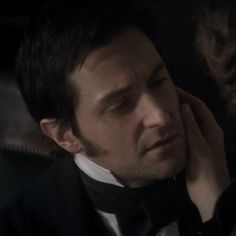 """""""I knew I was not good enough for her. Yet I think of her more than ever."""" (gif) - North and South North And South, Ella Enchanted, Elizabeth Gaskell, John Thornton, Look Back At Me, Mr Darcy, Bbc Tv, Richard Armitage, Love Movie"""