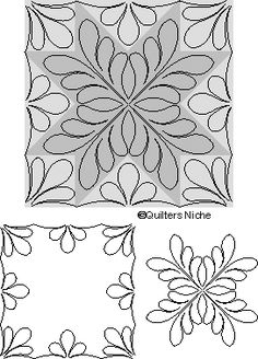 MO-031 Feather Star 2 quilting design