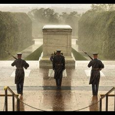 Soldiers who don't leave the Tomb of the Unknowns in DC. Always on duty even during Hurricane Sandy. Weather Conditions, American Pride, American History, American Freedom, American Flag, American Girl, Military Men, Military Personnel, Military Service