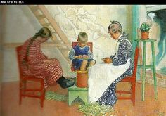 Dom sprit at arter-artspritning ingar i at solsidan arkvarell (1908)