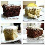 Crazy Cakes - No Eggs, Milk, Butter or Bowls.