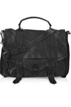 PROENZA SCHOULER  PS1 Large leather satchel
