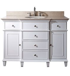 """Bathroom Vanities by Size: 41"""" to 50"""" – Large Selection of 42 and 48 Inch Bathroom Sink Vanities from DecorPlanet.com"""