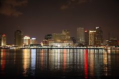 Move back to New Orleans. It's happening no matter how long it takes. New Orleans Skyline, Virtual Field Trips, Gods Glory, New Orleans Louisiana, Crescent City, Best Cities, City Lights, Travel Usa, Usa Trip