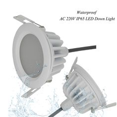 sale 1pcslot waterproof ip65 ac 220v5w 7w9w driverless dimmable led panel light cold white warm #led #downlights