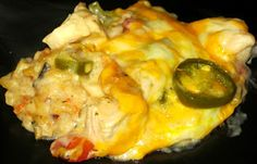 Jalapeno Chicken Casserole & Rice Casserole
