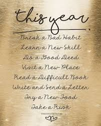 Image result for new years resolutions