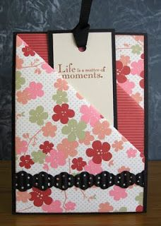 Stampin' Up! Mini Scrapbook Albums, Mini Albums, Card Making Templates, Thing 1, Stampin Up Catalog, Shaped Cards, Pocket Cards, Flower Cards, Homemade Cards