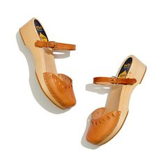 Swedish Hasbeens Mary-Jane Clogs....I love these except...LOL... I need something in the middle.