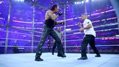 Shane McMahon vs. The Undertaker - Hell in a Cell: Fotos