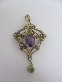 Edwardian suffragette pin