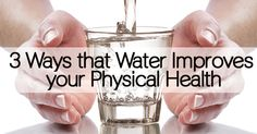 This is part 3 in a 3-part mini-series about the healthy benefits of water. Do your best to make sure that you're drinking at least 8-10 glasses of water every single day, to get the...