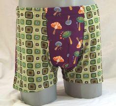 Handgemachte Unterhose, Retropant, Schlüppi Gr. L Patterned Shorts, Fashion, Fashion Styles, Briefs, Homemade, Handarbeit, Moda, Printed Shorts, Fashion Illustrations