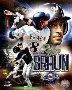 Ryan Braun Milwaukee Brewers