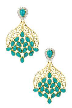 Sahara Earrings on HauteLook