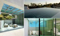 """Una #piscina sul tetto con un pavimento di vetro a sbalzo. Questa è la caratteristica architettonica davvero originale della """"Jellyfish House"""" (in Spagna) progettata dallo studio olandese Wiel Arets #Architects. Cosa ne pensate? #inspiration #architettura #design"""
