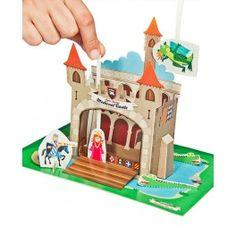 Teatro de papel, Castillo medieval Pukaca http://pekaypeke.com/es/marionetas/110-teatro-de-papel-castillo-medieval.html