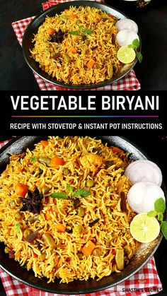 Tasty Vegetarian Recipes, Spicy Recipes, Beef Recipes, Vegetable Biryani Recipe, Vegetable Recipes, Veg Biryani Recipe Video, Veg Food Recipes, Veg Biryani Recipe Indian, Vegetarian Biryani