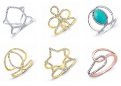 Diamonds! Diamonds ! Diamonds! What girl can resist? Brilliant pink, white, black, yellow , chocolate & green - in rose, white and yellow !!   Don't just pin your dream piece, own it!  It's love at first site. Take a look at a few of our pieces we've pinned just for you!! Stop in and see us for your special moments and your new favorite piece!  Crescent Jewelers in Lansing & Frankfort Illinois