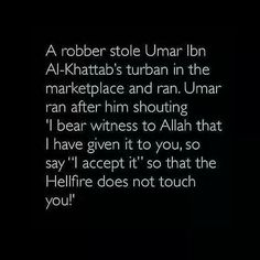 So He is called The Real Leader. He cared so much for His people. And according to History of Islam Hazrat Umar Ibn Al- Khattab was the most strongest and the Most fiercest Man on this Planet.