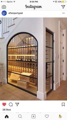 Wine Cellar Under Stairs Ideas. Photos hgtv, 25 clever wine cellar storage in under the stairs house. 15 space savvy under stairs wine cellar ideas home. Stair Storage, Wine Storage, Stair Shelves, Storage Room, Cave A Vin Design, Casa Park, Best Wine Coolers, Home Wine Cellars, Wine Cellar Design