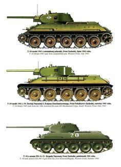 T-34 - Советский средний танк периода Великой Отечественной войны.