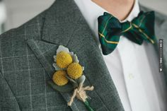 Amazing! - Boutonniere  Photography By /  Design By / | CHECK OUT MORE GREAT GREEN WEDDING IDEAS AT WEDDINGPINS.NET | #weddings #greenwedding #green #thecolorgreen #events #forweddings #ilovegreen #emerald #spring #bright #pure #love #romance