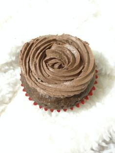 Cup cake de chocolate integral