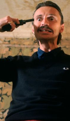 Robert Carlyle as Begbie in Trainspotting. T2 will be released on 27th January…