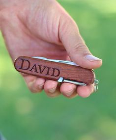 Another great find on #zulily! Personalized Pocket Knife #zulilyfinds