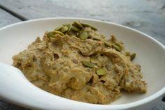 Indian Lentil-Pumpkin Seed Hummus   VegWeb.com, The World's Largest Collection of Vegetarian Recipes