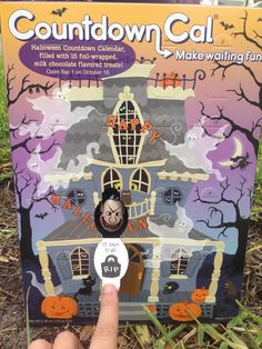 #AD Outnumbered 3 to 1: Halloween Countdown Calendar Giveaway