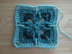 Ravelry: Project Gallery for Granny Square 16 pattern by Sue Karnes