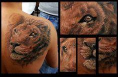 Lion Tattoo By Kobay Kronik