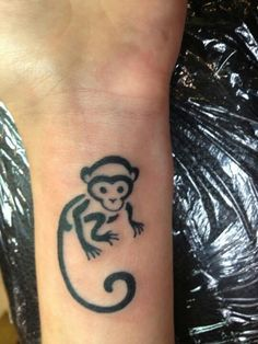 monkey tattoo done at classic ink mods amsterdam more body art monkey ...
