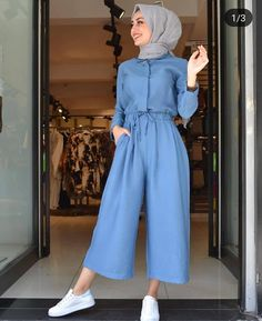 The very word conjures up images of gorgeous Muslim girls with pretty sca… - hijab outfit Hijab Fashion Summer, Modest Fashion Hijab, Modern Hijab Fashion, Hijab Fashion Inspiration, Islamic Fashion, Muslim Fashion, Hijab Style Dress, Hijab Casual, Hijab Chic