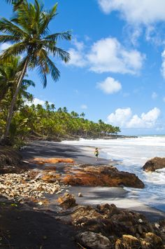 Nadire Atas on Beautiful Beaches To Visit Itacaré, Bahia - Brazil Places Around The World, Travel Around The World, Places To Travel, Places To See, Travel Destinations, Brazil Beaches, Bahia Brazil, Brazil Travel, Brazil Vacation