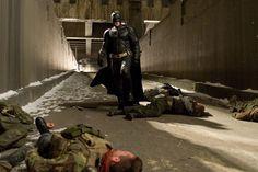 The Dark Knight Rises starring Christian Bale as Batman