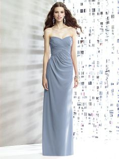 Social Bridesmaids Style 8140: The Dessy Group - Color Cloudy