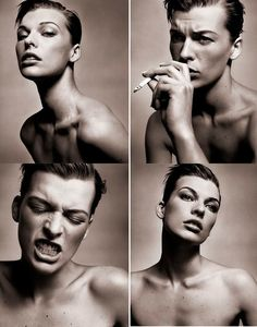 Milla Jovovich photographed by Vincent Peters in 2002 [i think she's one of the most physically beautiful people that's ever existed. Poses References, Milla Jovovich, Celebrity Photos, Persona, Supermodels, Actors & Actresses, Portrait Photography, Beautiful People, Portraits