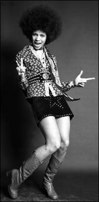 Betty Davis - Miles Davis' wife but a woman in her own right. I love her dirty funk albums