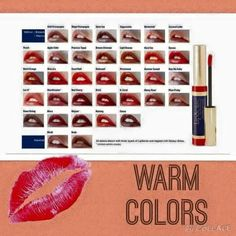 LipSense warm colors!!   https://www.facebook.com/pages/Siren-Cosmetics/1565439223702892