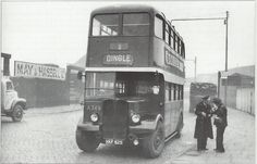 The No 1 bus.It's journey took you from The Dingle,Liverpool 8,All the way along the Liverpool docks as far as Seaforth.