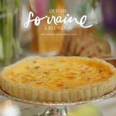 Nossa querida chef Bruna Leite, da Gourmandisme, resolveu simplificar – e muito – a nossa vida criando uma receita que também é muito fácilde preparar: A Quiche Lorraine à Blumenau.