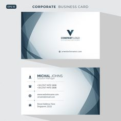 Discover thousands of copyright-free vectors. Graphic resources for personal and commercial use. Thousands of new files uploaded daily. Business Card Psd, Modern Business Cards, Professional Business Cards, Business Card Design, Creative Business, Fitness Logo, Banner Vertical, Visiting Card Design, Bussiness Card