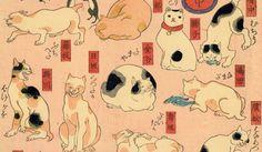 En el Japón del siglo XVIII ya estaban locos por los gatos